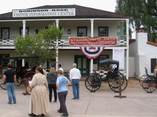 Stagecoach Days, Celebrating the West on the Move, is open free to the public. The weekly event is held on summer Saturdays in Old Town's historic central plaza.