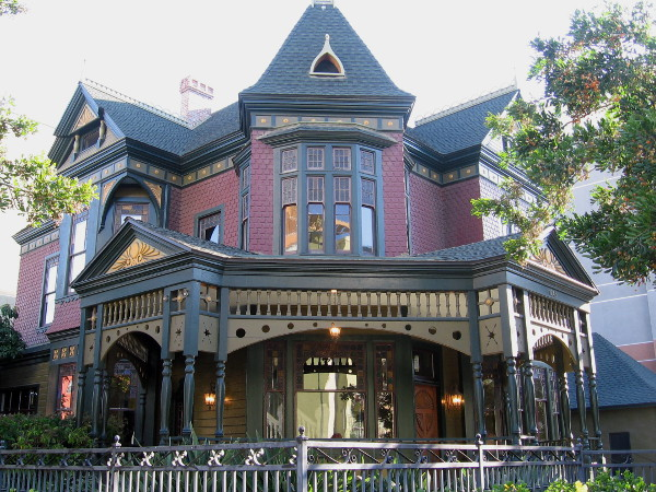 The Sheldon House is a very cool sight at the corner of 13th and Island in San Diego's East Village.