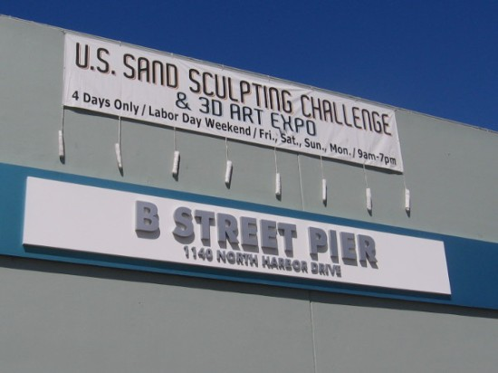 The 2015 U.S. Sand Sculpting Challenge is coming to San Diego's B Street Pier, next to the Cruise Ship Terminal, this Labor Day weekend!