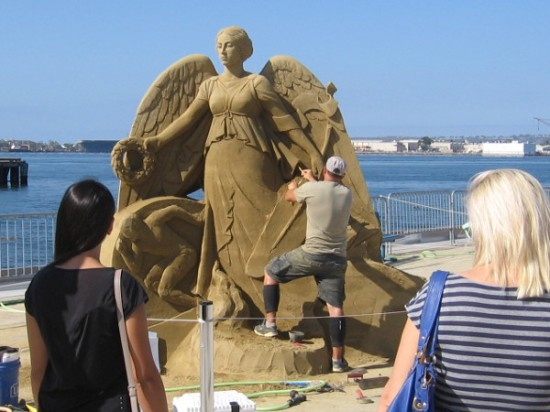 Many of the world's best sand artists are in San Diego for the 2015 U.S. Sand Sculpting Challenge.