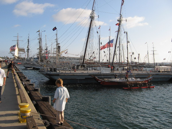 The 2015 Festival Sail runs through Labor Day weekend. You'll find it downtown at the awesome Maritime Museum of San Diego!