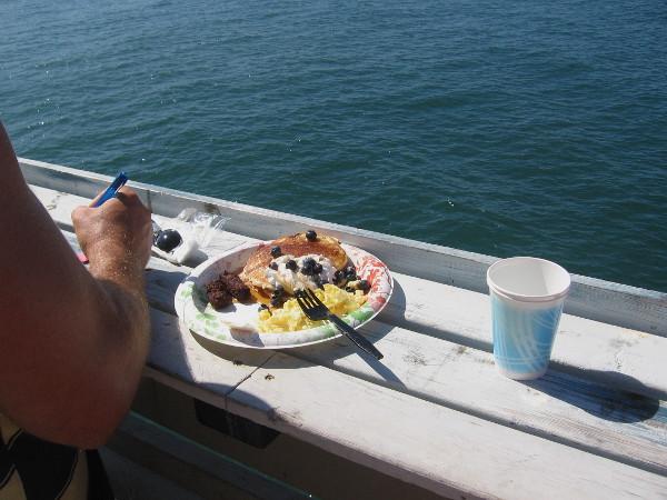 Unfortunately, I had already eaten breakfast. Looks delicious!