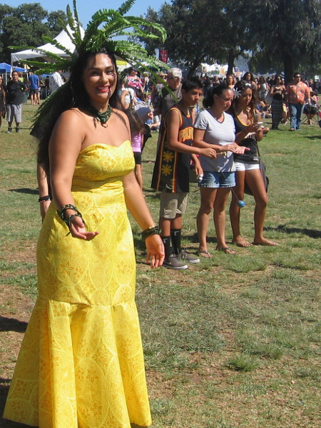 Lots of super nice people were enjoying the day at Ski Beach Park in Mission Bay, and many wore colorful costumes!