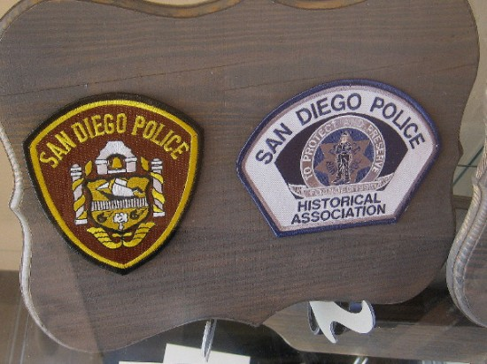 Some patches that were worn proudly.