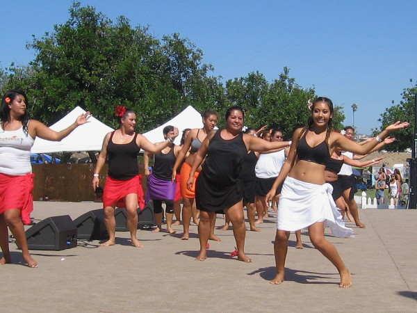 Lots of life and energy at the Pacific Islander Festival!