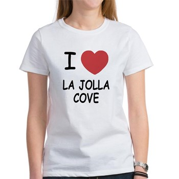 A cool I love La Jolla Cove shirt.