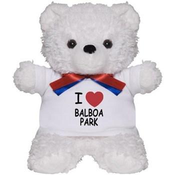 I love Balboa Park teddy bear.