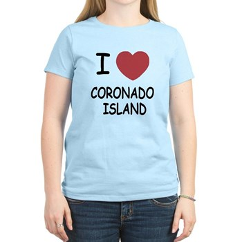I love Coronado Island shirt has heart!