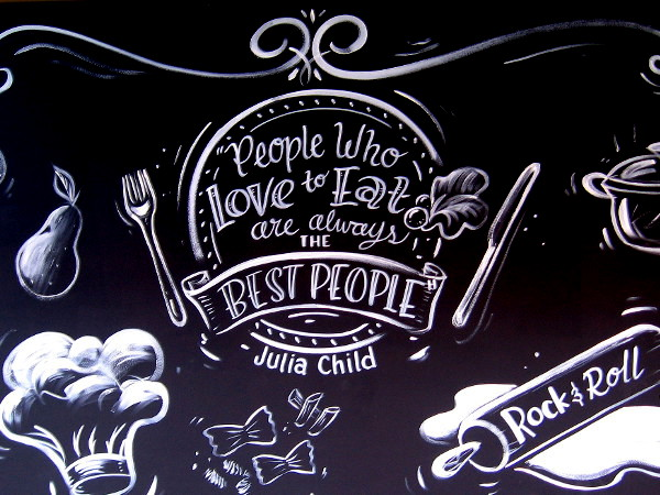People who love to eat are always the best people. Julia Child