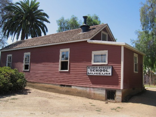 The Mason Street School museum is occasionally open to the public. If you're lucky and it is, make sure to step inside!