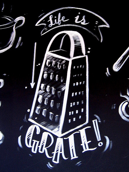 Life is grate!