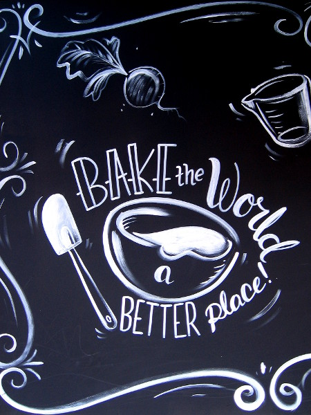 Bake the world a better place!
