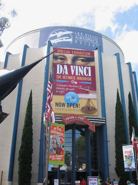 Leonardo Da Vinci was the ultimate innovator. The world famous San Diego Air and Space Museum has a special exhibition about the legendary Renaissance inventor.