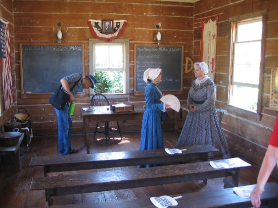 The Mason Street School provides visitors to Old Town San Diego State Historic Park a fascinating look at our city's unique past.