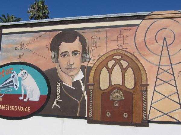 Guglielmo Marconi was instrumental in the development of the radio.