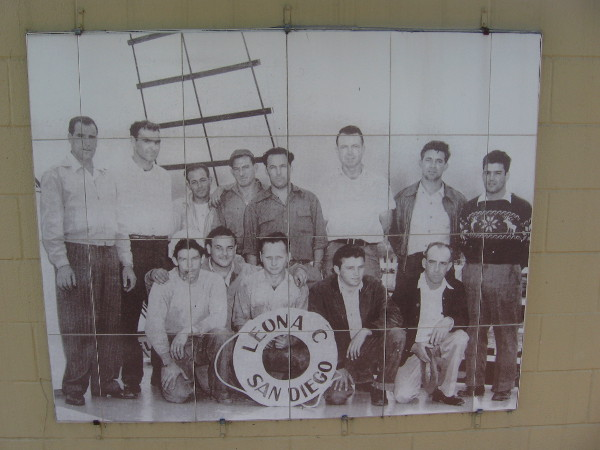 "The ""Leona C – San Diego"" fishing crew portray the faces of the hard working men who in turn provided for numerous jobs for entire communities."