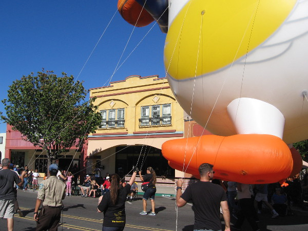 The Mother Goose Parade is underway! The fun annual tradition in San Diego's East County draws enormous crowds.