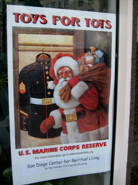 The Toys for Tots Program collects toys nationwide for children who could use a happy surprise during the holidays.