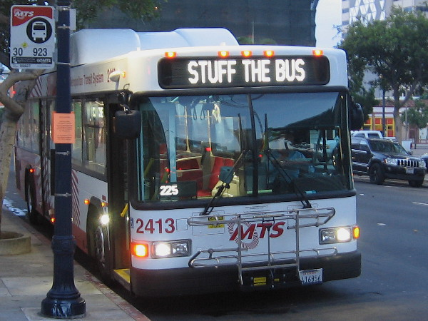 Please help Stuff the Bus to fight hunger in San Diego!