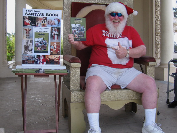 "Bill ""Santa"" Swank has written a really great book about the history of Christmas in San Diego!"