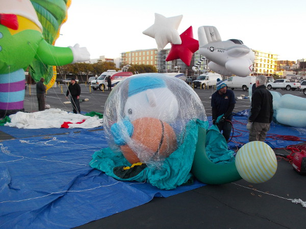This fun-looking one is inflating!