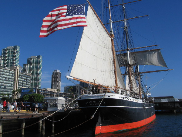 The Star of India needs your help! Donate today to help replace the deck, and to preserve this amazing ship for generations to come.