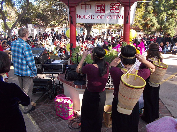 A special House of China lawn program at Balboa Park's International Cottages celebrates the Chinese Lunar New Year with music and dance.