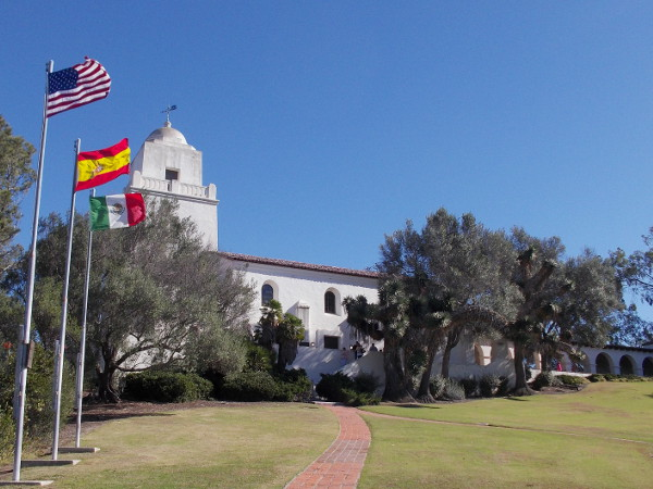 The Junipero Serra Museum of the San Diego History Center was built in 1928 on Presidio Hill, where European civilization was established in Alta California.