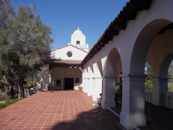 The Serra Museum building was designed by noted architect William Templeton Johnson. It reflects Spanish Revival architecture.