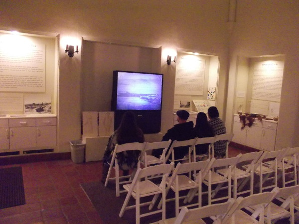 A small theater in the Serra Museum contains additional exhibits about life in and around the old Presidio.