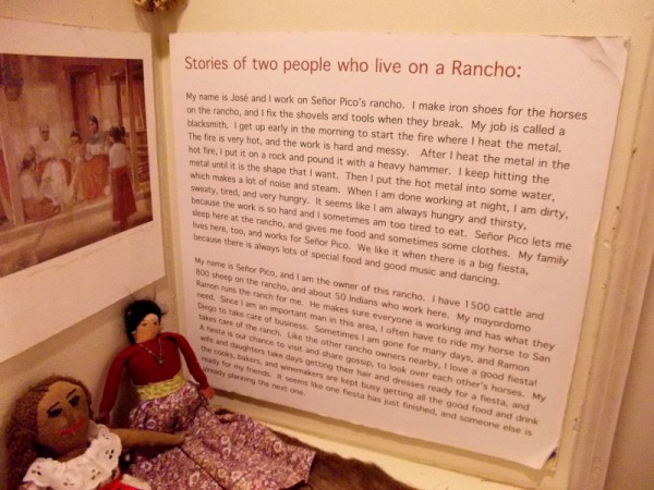 Stories of two people who lived on a local Rancho. Click the image to enlarge, if you'd like to read it.