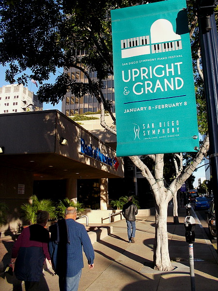 The San Diego Symphony's Upright and Grand festival is a month-long event that celebrates the piano.