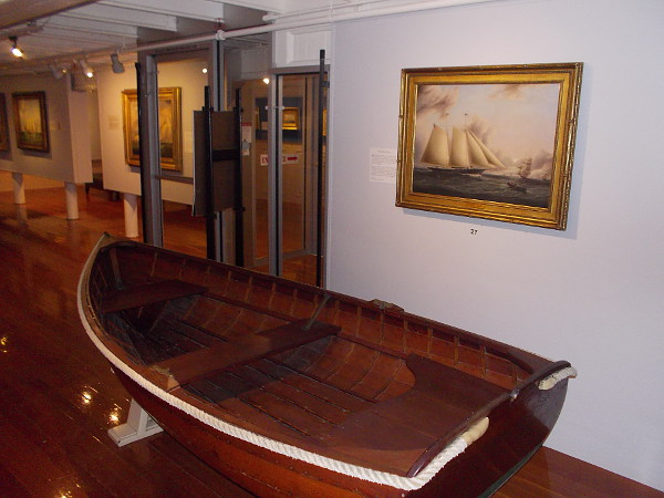 In addition to this world-class art, the Maritime Museum of San Diego contains a vast collection of nautical objects. It is a must-see destination for those interested in our city's rich history.