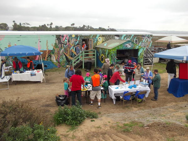 Love Your Wetlands Day was a great opportunity for the public to help preserve and enhance the Kendall-Frost Marsh!