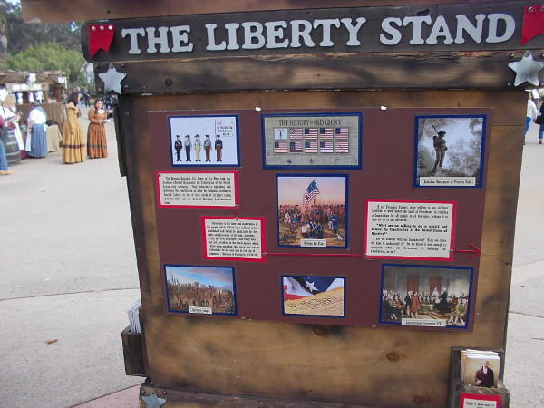 The Liberty Stand explained how Mormons believe in the vision of America's founding fathers, and their belief in values delineated by the U.S. Constitution.