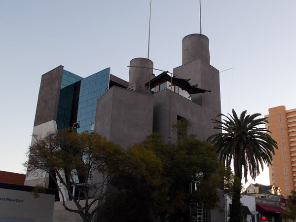 Another photo on a different day of this very cool building in San Diego's always interesting Little Italy neighborhood.