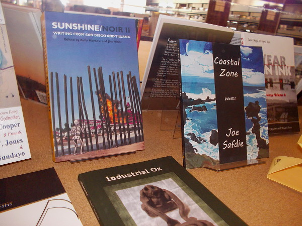 Sunshine/Noir II: Writing from San Diego and Tijuana. Coastal Zone, poems by Joe Safdie.