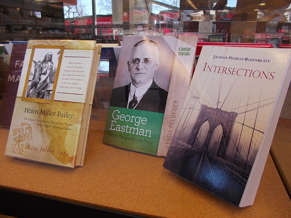 Books by local authors concern every subject imaginable, including art, history, culture and photography.