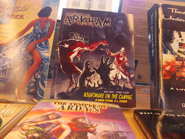 Horror, detective fiction, graphic novels, children's book--San Diego authors are prolific creators!