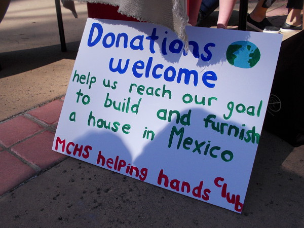 Donations welcome. Help us reach our goal to build and furnish a house in Mexico.