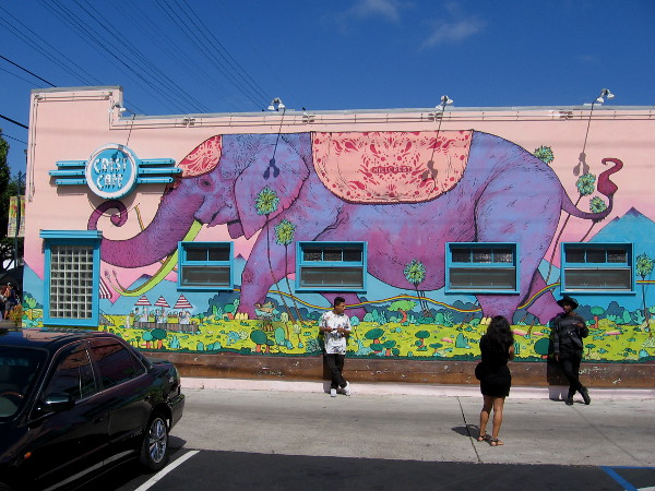 Another fun example of creativity in the diverse and wonderful city of San Diego.