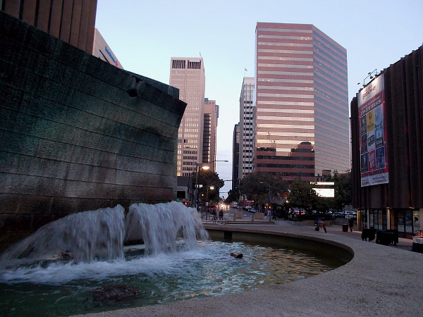 An iconic water fountain in the heart of San Diego is yet another cool sight!