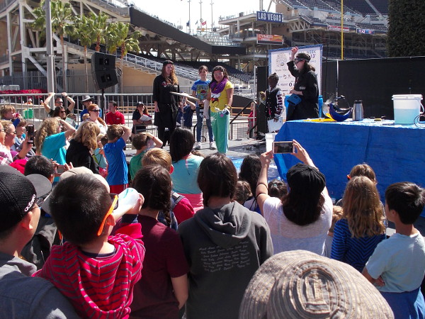 Kids and curious adults were learning all sorts of cool concepts at the 2016 San Diego Festival of Science and Engineering at Petco Park.