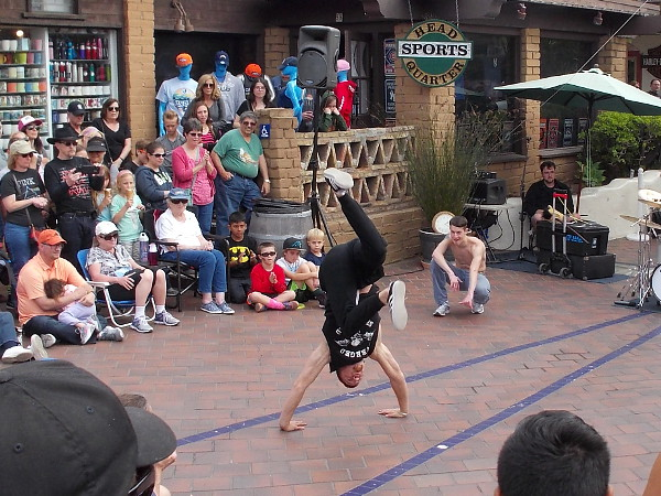 Fantastic break dancing and acrobatics were the specialty of the super entertaining Flying Tortillas!