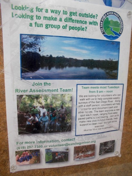 Make a difference with a fun group of people. Join the River Assessment Team! Help support a clean river and get some exercise!
