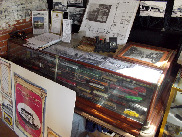 There's so much cool stuff crammed inside the museum, a railfan could spend hours closely examining all of it!