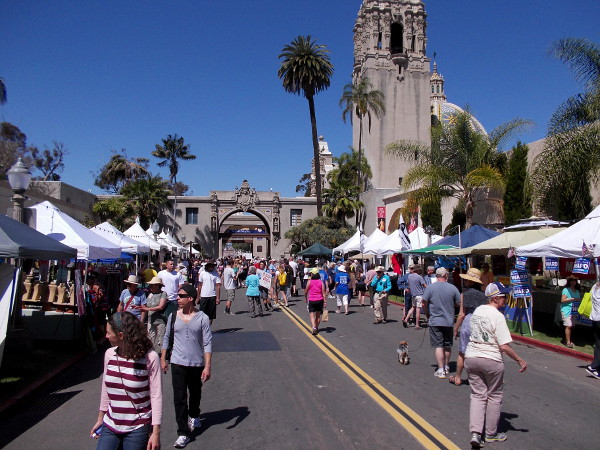 Thousands turned out for 2016 EarthFair in Balboa Park, where San Diego celebrates Earth Day and learns how to help the environment.
