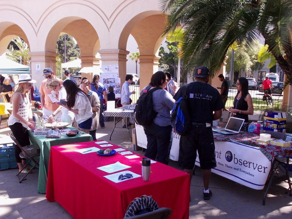 People in San Diego's Balboa Park have gathered to learn how to make the world a better place. Many non-profits were represented at an annual fair put on by The Worldview Project.