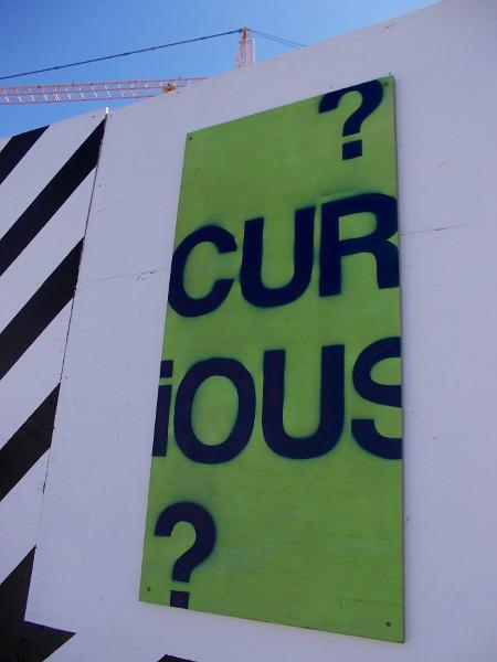 Curious? I am.