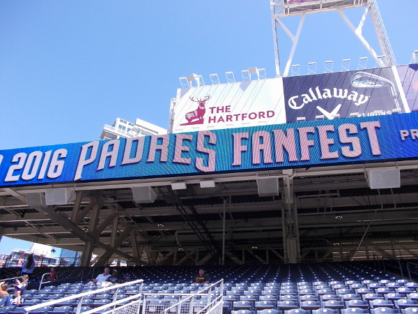 Padres FanFest is an exciting annual event at Petco Park!